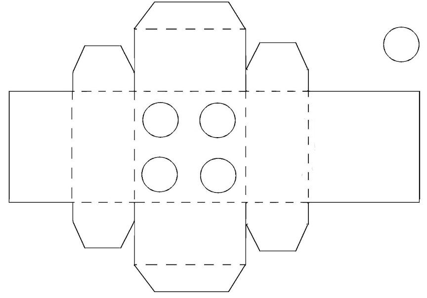 Коробка для кексов как сделать 53