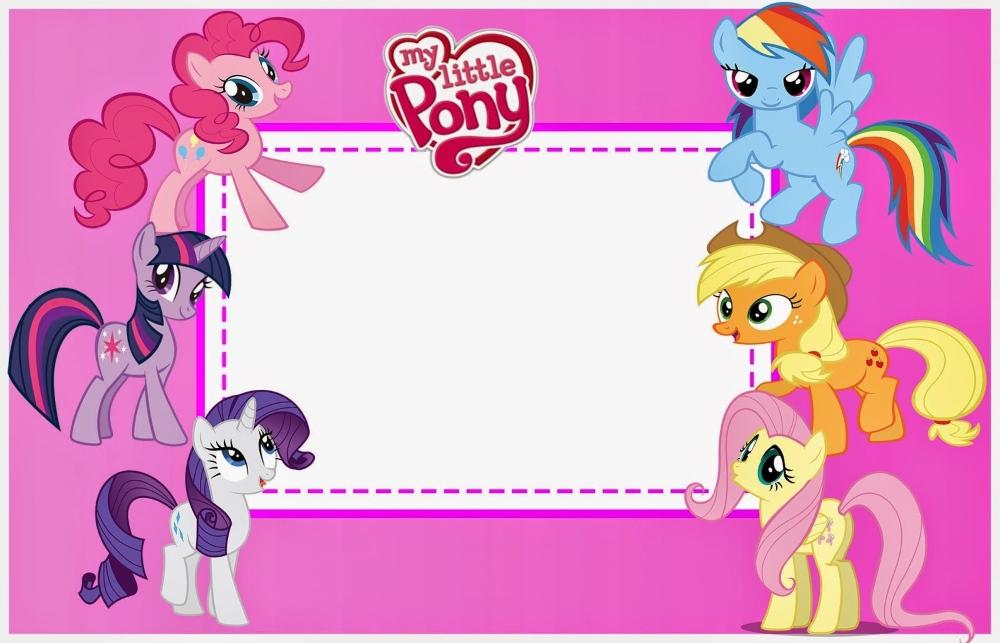 Создать открытку пони 2 4
