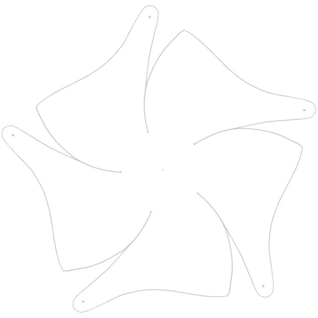 Вертушка из бумаги своими руками для детей крутящаяся 14