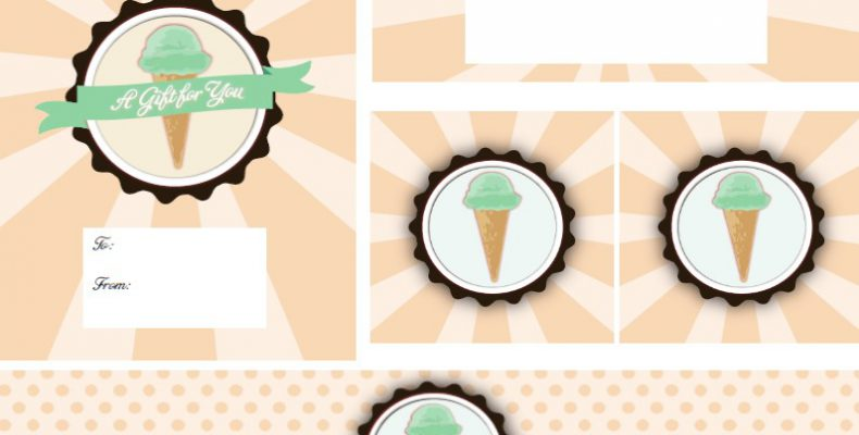 Винтажное кафе-мороженое