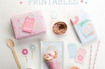 Скачай и распечатай: упаковка для сладостей