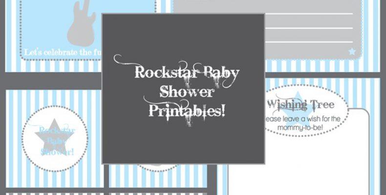 Baby Shower: рок-звезда