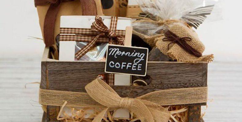 Подарок для влюблённых в кофе