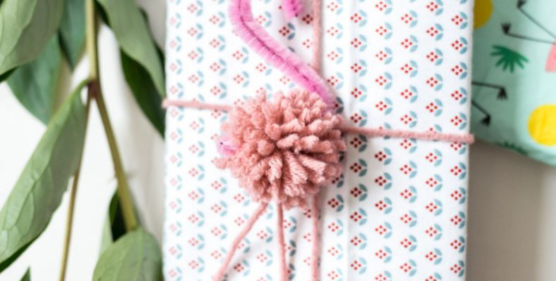 Подарок от фламинго