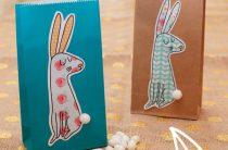 Скачать и распечатать: весенние зайчики