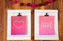 Постеры ко Дню св. Валентина