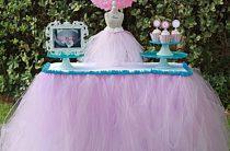 МК: «юбка» для праздничного стола