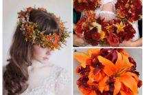 Осенние цвета в оформлении свадьбы