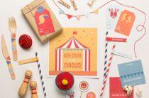 Набор для декора детского праздника. Тема «Цирк»