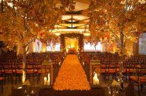 Осенняя свадьба: готовимся заранее