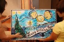 День рождения маленького художника