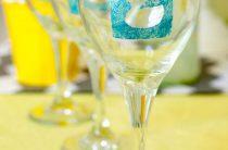 МК: декор бокалов для вечеринки Baby Shower