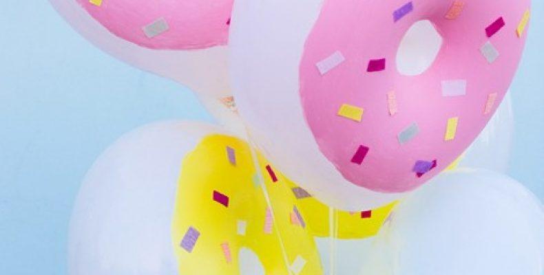 МК: воздушные шарики-пончики