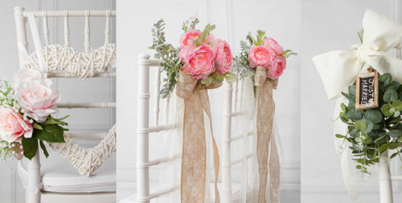 Идеи украшения стульев жениха и невесты