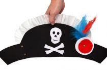 МК: пиратская шляпа и крюк