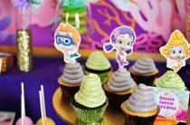 Детский день рождения, тема: «Гуппи Пузырики» / «Bubble Guppies»
