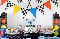 День рождения маленького автогонщика