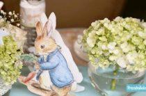Baby Shower по книгам о Кролике Питере