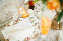 Элегантная лисья свадьба
