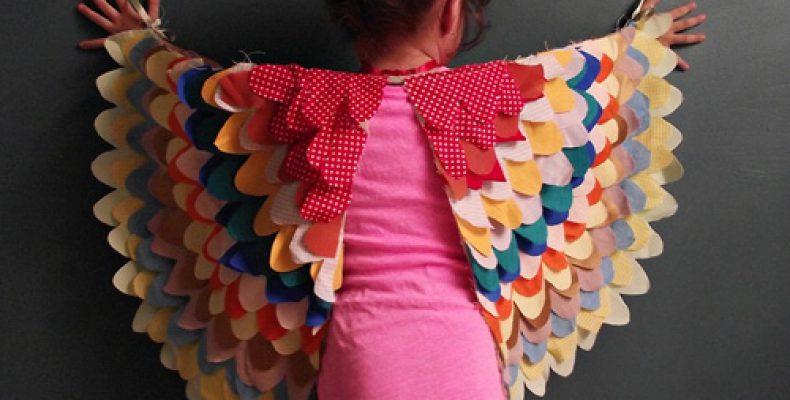 МК: костюм птички для девочки