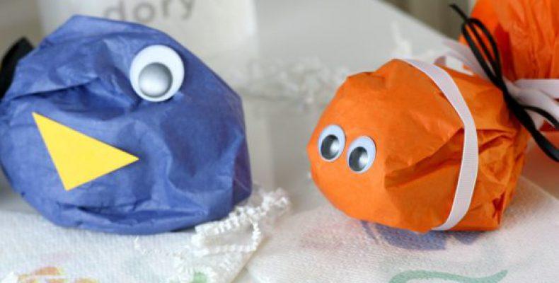 МК: рыбки Дори и Немо