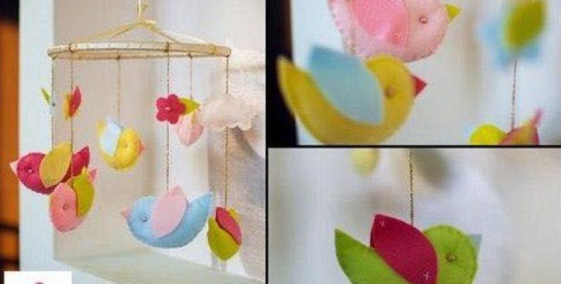 МК: мобиль с птичками