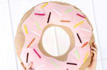 МК: подушка-пончик