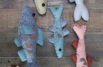 МК: игрушечные рыбки