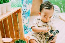 Детская фотосессия: сафари