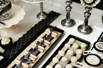 Candy Bar на готической винтажной свадьбе