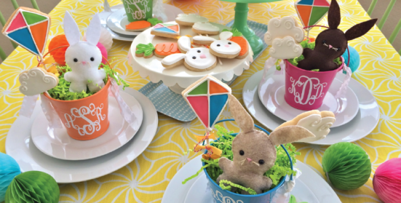Детский праздничный стол на Пасху