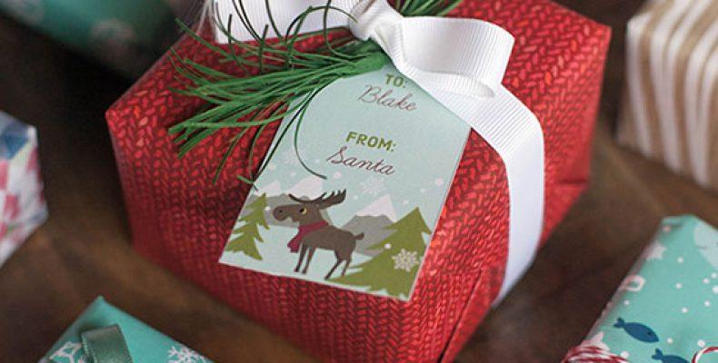 Скачай и распечатай: ярлычки для подарков