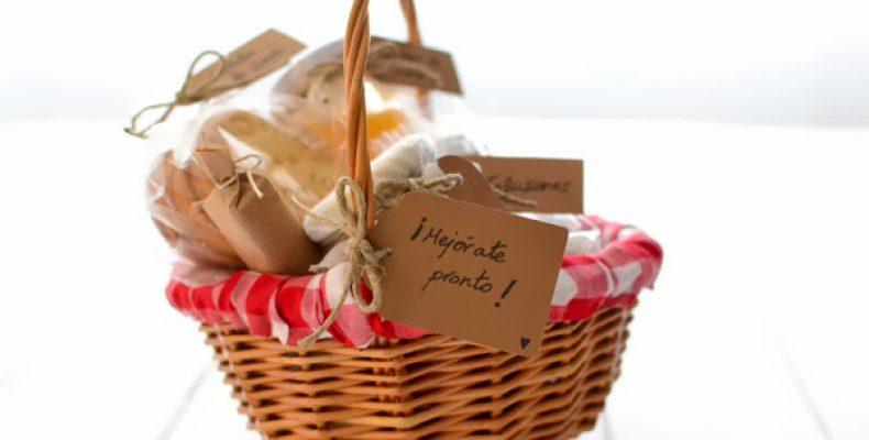 Подарочная корзинка «Выздоравливай скорей!»