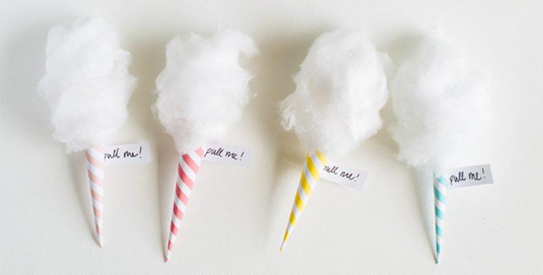 МК: приглашение «Сахарная вата»