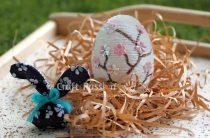 МК: пасхальное яйцо с веткой сакуры