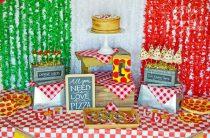 Праздник сладкой пиццы