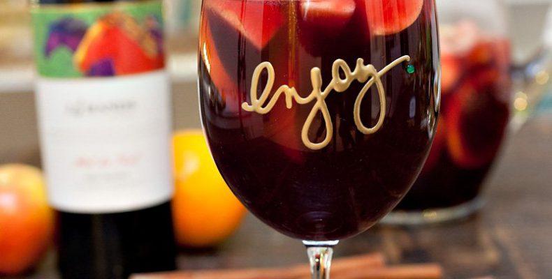 Рецепт коктейля «Яблочная Сангрия»