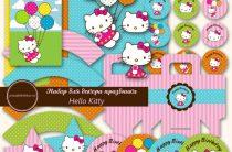 Hello Kitty: скачать и распечатать