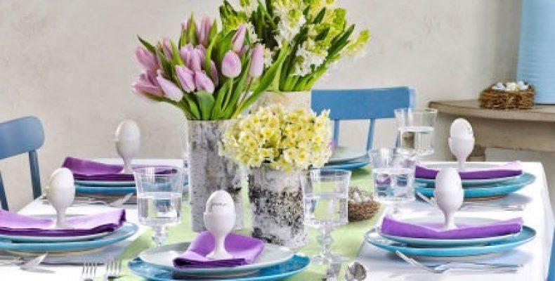 10 примеров декора праздничного стола на Пасху