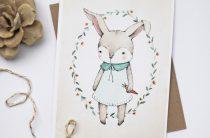 Постер для детской «Кролик»