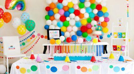 Как организовать радужную арт-вечеринку