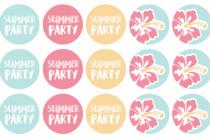 Скачать и распечатать: летний праздник