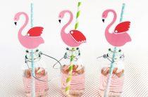 Поделки и принты для праздника «Фламинго»