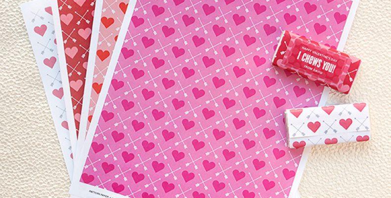 Бумага для романтических подарков